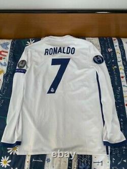 Cristiano Ronaldo Real Madrid match worn shirt football jersey maglia trikot