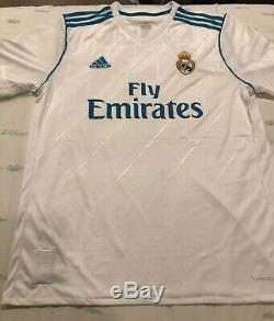 Cristiano Ronaldo Signed Auto Real Madrid Soccer Jersey Beckett Witnessed COA