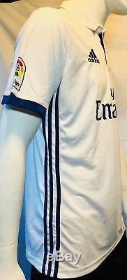 Cristiano Ronaldo Signed Autographed Real Madrid Adidas Soccer Jersey PSA/DNA