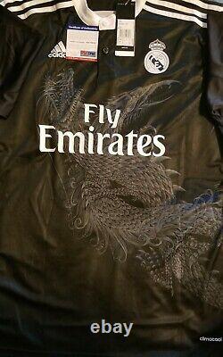Cristiano Ronaldo Signed FC Real Madrid 2015 Dragon Fly Emirates Adidas Soccer