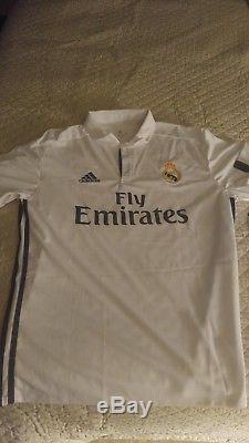 Cristiano Ronaldo Signed Real Madrid #7 Soccer Jersey Auto PSA/DNA