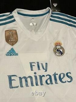 Cristiano Ronaldo Signed Real Madrid ADIDAS Jersey COA Soccer Football