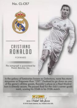 Cristiano Ronaldo Signed Real Madrid Home Shirt