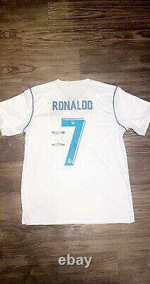 Cristiano Ronaldo Signed Real Madrid Jersey Beckett COA