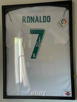 Cristiano Ronaldo Signed Real Madrid Jersey PAAS COA