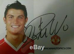 Cristiano Ronaldo Signed Real Madrid Number 7 Home Shirt