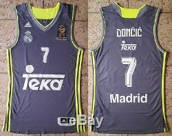 DONCIC Real Madrid Jersey Camiseta Trikot Basketball Dallas Mavericks M size