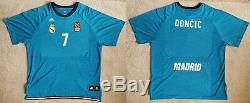 DONCIC Real Madrid Jersey Camiseta Trikot Basketball Dallas Mavericks XL size