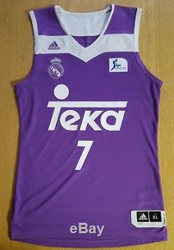 Doncic Jersey Camiseta Canotta Real Madrid 2017 XL Basketball Dallas Mavericks