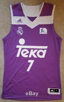 Doncic Jersey Camiseta Canotta Real Madrid Liga Endesa 2017 L Basketball