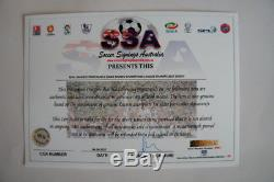 FC Real Madrid Team signed CL Winners Final Jersey Ronaldo Zidane COA signiert