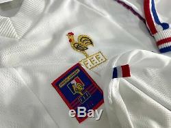 FRANCE away 1998 shirt ZIDANE #10 Real Madrid-Juventus-Maillot-Jersey (L)