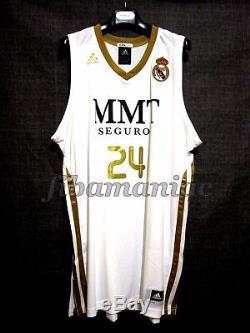 Fiba Serge Ibaka Real Madrid Lockout Basketball Jersey Nba Raptors Spain