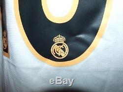 Figo Real Madrid 2003/2004 Maglia Shirt Calcio Football Maillot Jersey Soccer