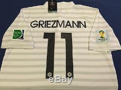 France Griezmann Soccer Jersey Fifa World Cup Brasil 2014 Barcelona Real Madrid