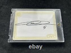Futera Unique Soccer ZINEDINE ZIDANE 1/1 Dual Jersey Auto Autograph Real Madrid