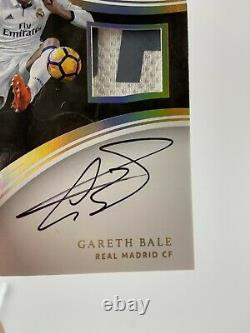 Gareth Bale 2017 Panini Immaculate Collection Soccer Patch Jersey Auto Sp #01/10