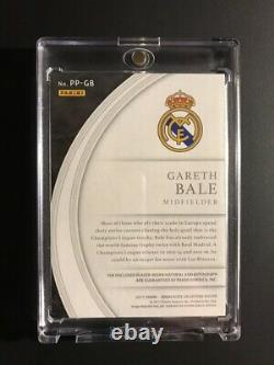 Gareth Bale 2017 Panini Immaculate Patch Jersey AUTO ON CARD #2/5 Real Mardrid
