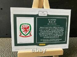 Gareth Bale 2018 National Treasures Colossal Jersey Auto #/10, Wales, Spurs, Madrid