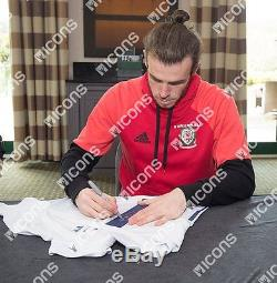 Gareth Bale Back Signed Real Madrid 2016-17 Home Shirt Autograph Jersey