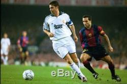 Hierro Real Madrid 2000 2001 Jersey Shirt Maillot Spain Espana Camiseta L