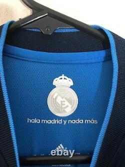 Isco #22 Real Madrid 2015/16 Medium 3rd Shirt Jersey Adidas BNWT