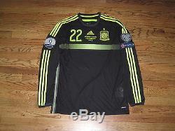 Isco Real Madrid Spain Shirt Jersey Player Issue Match Un Worn 2014 Adizero LS