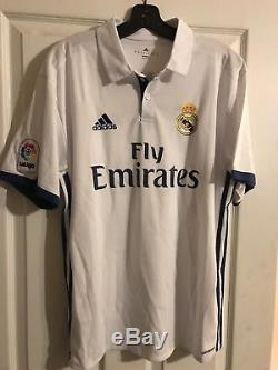 JAMES RODRIGUEZ Signed Jersey XL REAL MADRID PSA DNA COA CLEAN