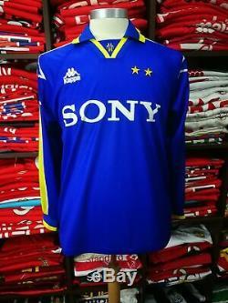 JUVENTUS away 1996/97 shirt ZIDANE #21 France-Real Madrid-Kappa-Jersey (M)