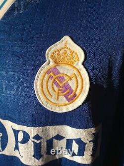 Jersey Camiseta Real Madrid 89/90 Reny Picot hummel Away ultrarare football