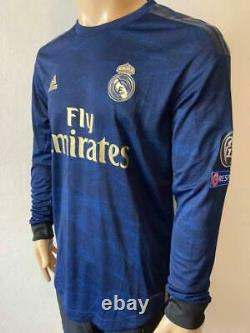 Jersey Real Madrid 2019-20 Away Climachill Player Issue Long sleeve ramos name