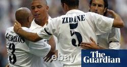 Jersey Real Madrid Zinedine Zidane 2002 Spain France 100% Authentic #5 Ronaldo