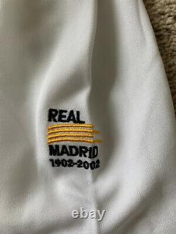 Jersey Real Madrid Zinedine Zidane 2002 Spain France #5 Ronaldo XL