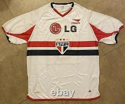 Jersey sao paulo #8 Kaka Signed 2002 Brazil 100% Original COA BRASIL REAL MADRID