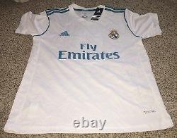 Karim Benzema Signed Real Madrid Jersey size medium new with tags proof