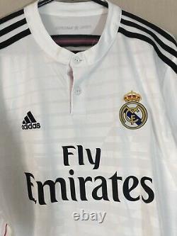 Kroos #8 Real Madrid 2014/15 Home Large Football Shirt Jersey Adidas BNWT