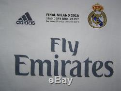 Kroos 8 Real Madrid shirt Champions League Final Milan 2016 jersey brand new top