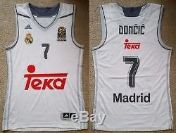LUKA DONCIC Real Madrid Jersey Camiseta Canotta Trikot Basketball 2015/16 size M