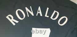 (L) MANCHESTER SHIRT JERSEY RONALDO REAL MADRID PORTUGAL MAGLIA L/S v. ARSENAL