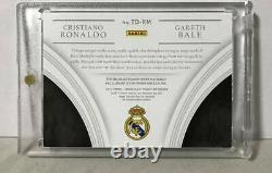 Limited to 25 double patch jersey cards PANINI IMMACULATE Ronaldo Vail Real Madr