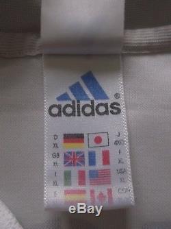 Luis FIGO #10 Real Madrid Home Football Shirt Jersey 2001/02 (XL)