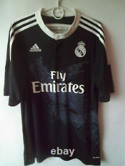 MEGA RARE! 2014-15 Real Madrid Third Shirt Jersey Trikot L