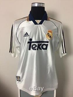 MIJATOVIC #8 Real Madrid Home Football Shirt Jersey 1998-2000 (L)