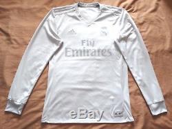 MINT Real Madrid Jersey PARLEY 2016 2017 Shirt 16-17 Limited Original LONG