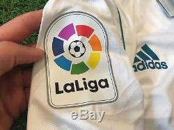 Maglia Adidas Authentic Match Worn Camiseta Jersey Real Madrid Modric 10 Home 7