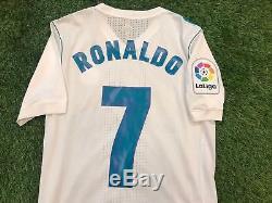 Maglia Adidas Authentic Match Worn Camiseta Jersey Real Madrid Ronaldo 7 Home 7