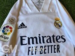 Maglia Adidas Authentic Player Issue Jersey Real Madrid Liga Sergio Ramos Home 8