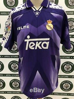 Maglia Calcio Real Madrid Roberto Carlos Match Worn Shirt Trikot Jersey Maillot