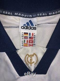 Maglia Calcio Real Madrid Roberto Carlos Signed Autografata Shirt Trikot Jersey