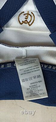 Maglia Real madrid NO DROGAS Seedorf 1998-99 vintage Adidas shirt jersey